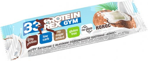 30 Protein Rex Gym (Кокос, 60 гр)