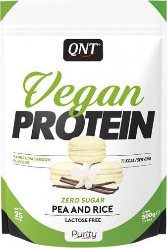 Vegan Protein (Ваниль-макарун, 500 гр)