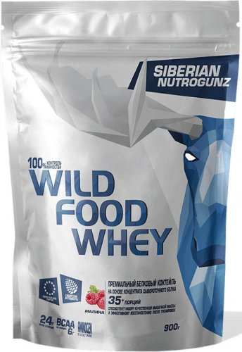 Wild Food Whey (Двойной шоколад, 900 гр)