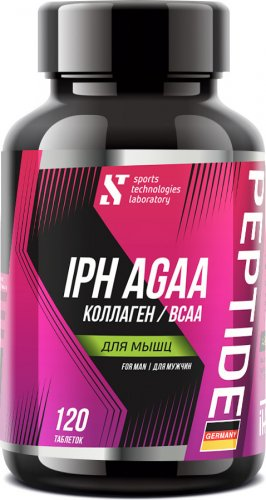 BCAA Collagen IPH AGAA Man (100 таб)