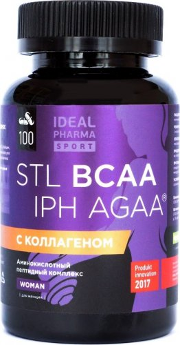 BCAA Collagen IPH AGAA Woman (100 капс)