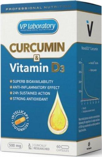 Curcumin & Vitamine D3 (60 капс)