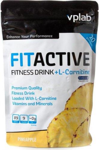 FitActive Fitness Drink + L-Сarnitinе (Ананас, 500 гр)