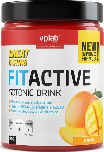 FitActive Isotonic Drink (Манго, 500 гр)
