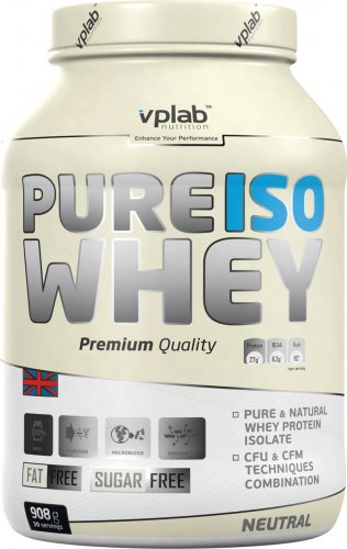 Pure Iso Whey (Манго-персик, 908 гр)
