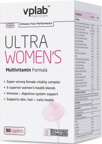 Ultra Women's Multivitamin Formula (90 капс)