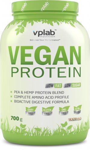 Vegan Protein (Ваниль, 700 гр)