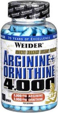 Arginine + Ornithine 4000 (180 капс)