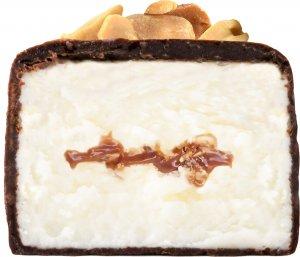 Глазированный растительный сырок (Арахисовый в молочном шоколаде, 44 гр)
