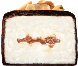 Глазированный растительный сырок (Арахисовый в темном шоколаде, 44 гр)