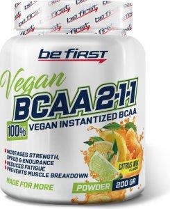 BCAA 2:1:1 Vegan powder (Цитрусовый микс, 200 гр)