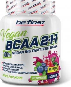 BCAA 2:1:1 Vegan powder (Лесные ягоды, 200 гр)
