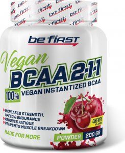 BCAA 2:1:1 Vegan powder (Вишня, 200 гр)