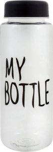 Бутылка для воды My Bottle (Прозрачно-черный, 400 мл)