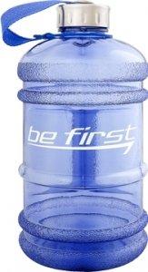 Бутылка с ручкой для воды Be First (Синий, 2200 мл)