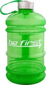 Бутылка с ручкой для воды Be First (Зеленый, 2200 мл)