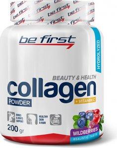 Collagen + vitamin C powder (Лесные ягоды, 200 гр)