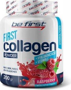 First Collagen +hyaluronic acid+ vitamin C powder (Лесные ягоды, 200 гр)