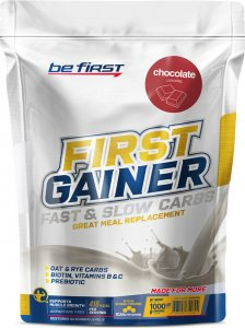 Гейнер First Gainer Fast & Slow Carbs (Шоколад, 1000 гр)