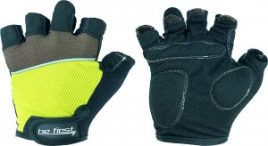 Перчатки Be First 308 (Черно-зеленый, M)