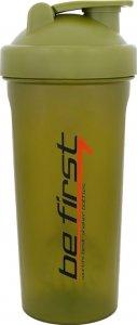 Шейкер Be First TS 1038 с шариком (Хаки, 1000 мл)