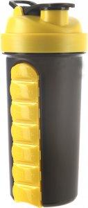 Шейкер Be First TS1025 (Черно-желтый, 800 мл)