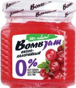 Джем Bombjam (Брусника, 250 гр)