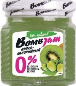 Джем Bombjam (Киви-крыжовник, 250 гр)