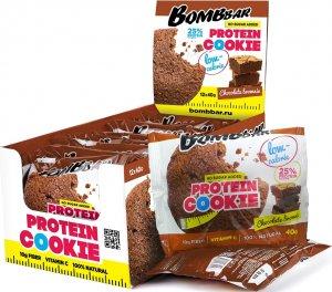 Низкокалорийное печенье Bombbar Protein Cookie (Шоколадный брауни, 40 гр)