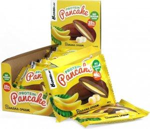 Панкейк неглазированный с начинкой (Банановый крем, 40 гр)