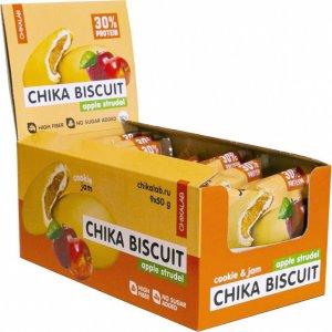 Печенье неглазированное с начинкой CHIKALAB BISCUIT (Яблочный штрудель, 50 гр)