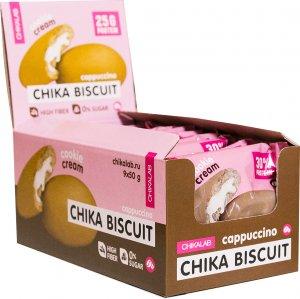 Печенье неглазированное с начинкой CHIKALAB BISCUIT (Капучино, 50 гр)