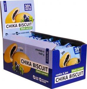 Печенье неглазированное с начинкой CHIKALAB BISCUIT (Черная смородина, 50 гр)
