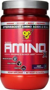 Amino X (Клубника-апельсин, 435 гр)