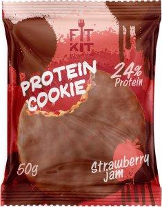Protein Choсolate Cookie FitKit (Клубничный джем, 50 гр)