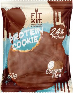 Protein Choсolate Cookie FitKit (Кокосовый флан, 50 гр)