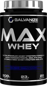 GALVANIZE Max Whey (Двойной шоколад, 900 гр)