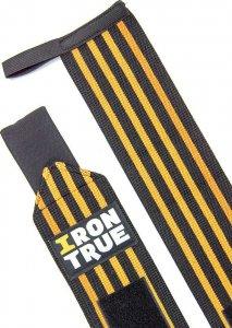 Бинт кистевой Irontrue WS100-50 (Черно-оранжевый)