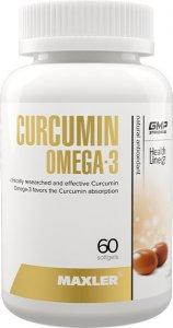 Curcumin+Omega 3 (60 капс)