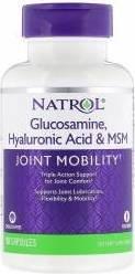 Hyaluronic Acid MSM & Glucosamine (90 капс)