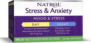 Stress & Anxiety Day & Nite 30+30 (60 таб)