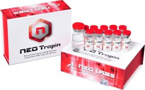 Неотропин, 10 ед/флакон (10 флаконов) БЕЗ Бактерицидной воды!