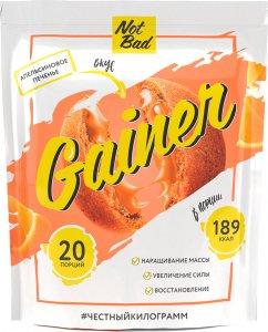 Гейнер NotBad Gainer (Апельсиновое печенье, 1000 гр)