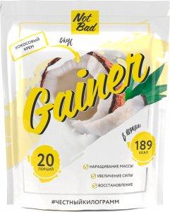 Гейнер NotBad Gainer (Кокосовый крем, 1000 гр)