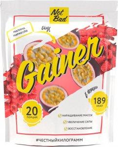 Гейнер NotBad Gainer (Малина-маракуйя, 1000 гр)