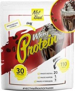 NotBad Whey Protein (Ирландские сливки, 1000 гр)