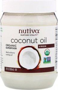 Органическое кокосовое масло холодного отжима (858 мл)