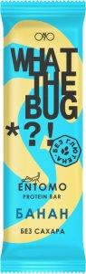 Батончик What The Bug (Банан, 50 гр)