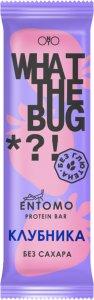 Батончик What The Bug (Клубника, 50 гр)