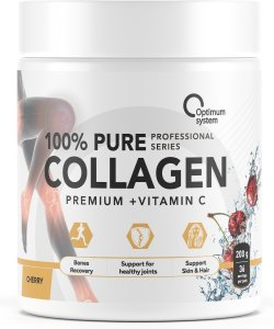100% Pure Collagen Powder (Вишня, 200 гр)